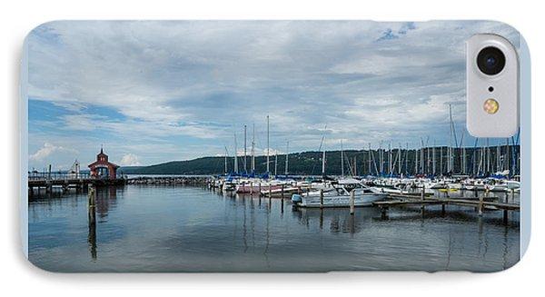Seneca Lake Harbor - Watkins Glen - Wide Angle IPhone Case