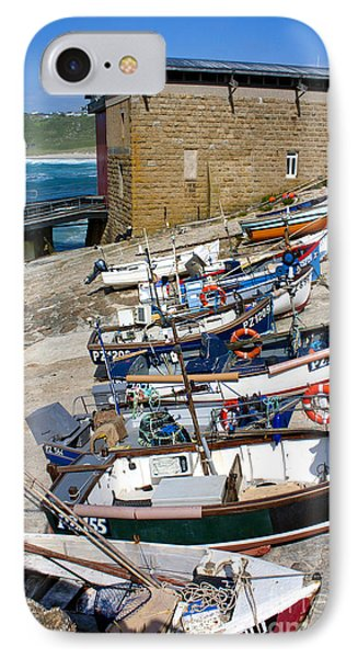 Sennen Cove Fishing Fleet IPhone Case by Terri Waters