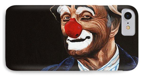 Senor Billy The Hobo Clown Phone Case by Patty Vicknair