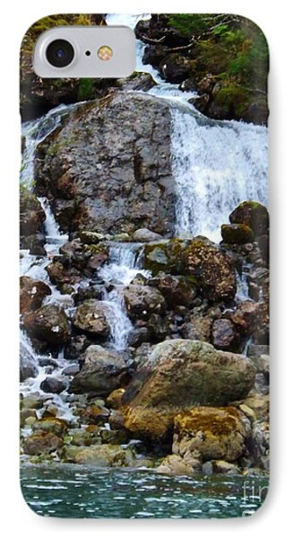 IPhone Case featuring the photograph Sensory Feast Waterfall by Brigitte Emme