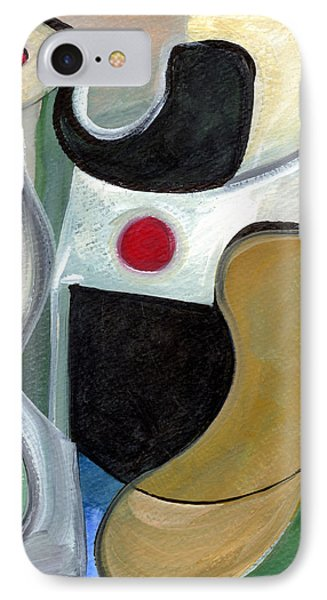 IPhone Case featuring the painting Sensuous Beauty by Stephen Lucas