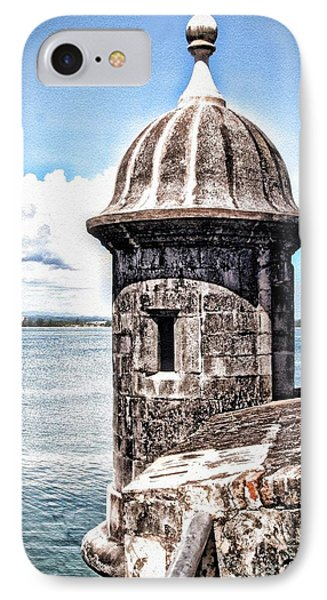 Sentry Box In El Morro Hdr IPhone Case