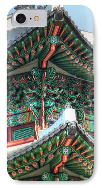 Seoul Palace Phone Case by Michael Garyet