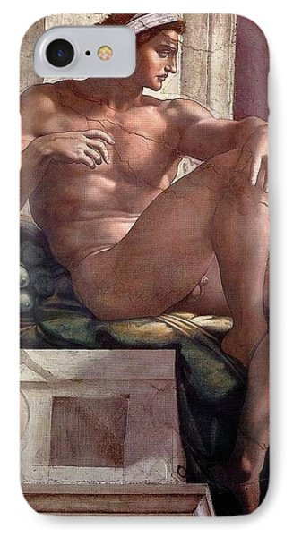 Separation Of Light From Darkness - Ignudo Detail IPhone Case