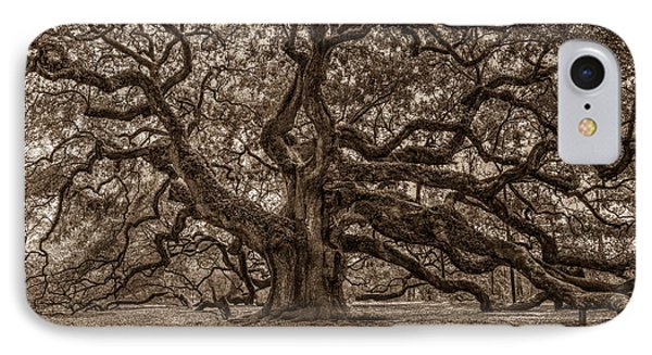 Sepia Angel Oak IPhone Case