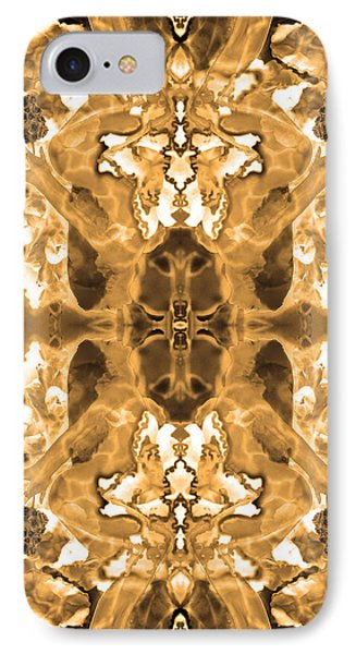 Sepia Bag Fairies 1 IPhone Case