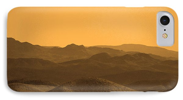Sepia Mountains IPhone Case