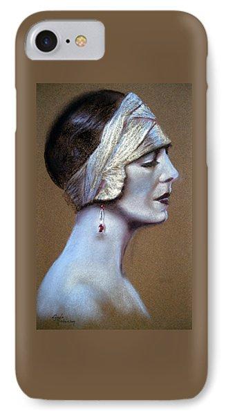 Sepia Siren Phone Case by Lynda Robinson