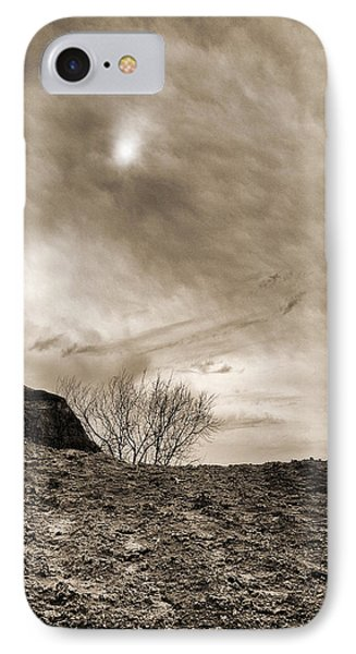 Sepia Skies IPhone Case by Meir Ezrachi