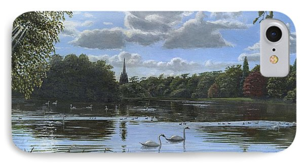 September Afternoon In Clumber Park Phone Case by Richard Harpum