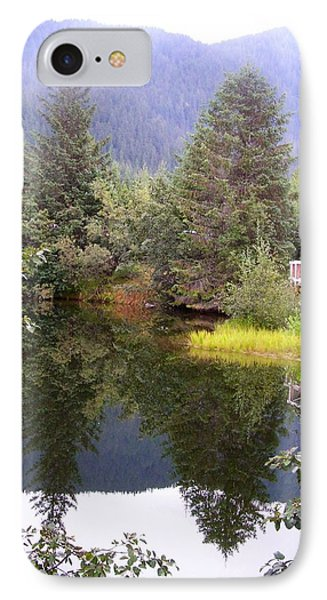 September At The Mendenhall Glacier. IPhone Case