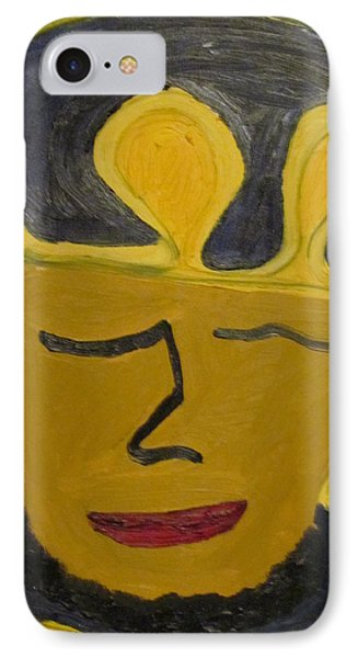 IPhone Case featuring the painting September  Eleventh  by Shea Holliman