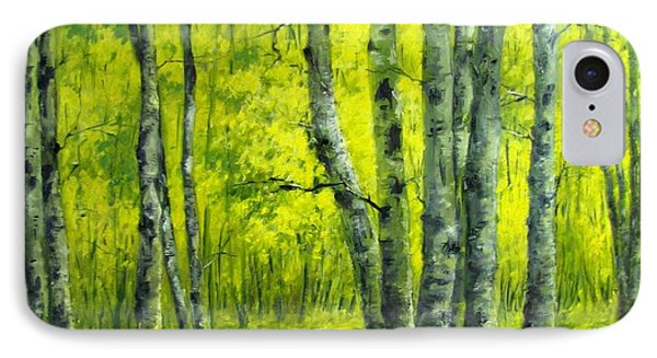 September In The Woods IPhone Case