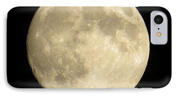 September Moon IPhone Case by Judy Via-Wolff