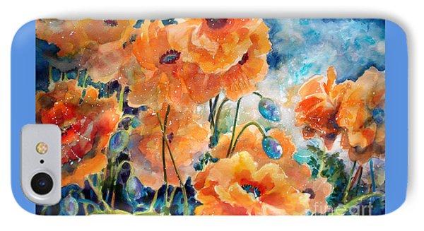 September Orange Poppies            Phone Case by Kathy Braud