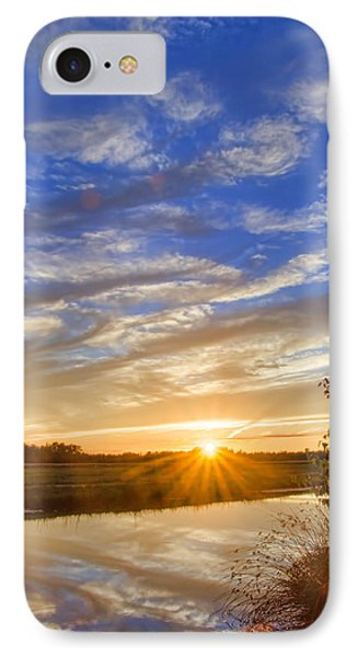 September Sky Reflection IPhone Case