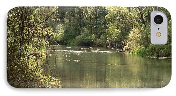 September Spring Creek IPhone Case
