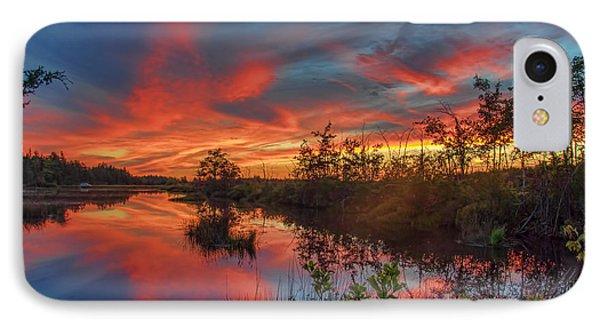 September Sunset Reflection IPhone Case
