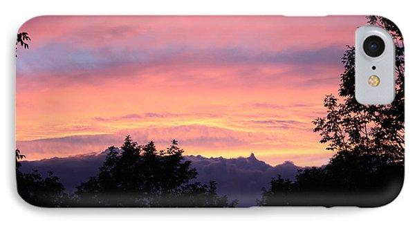 September's Evening Sky IPhone Case by Patricia Hiltz