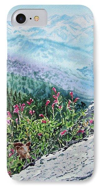 Sequoia National Park IPhone Case by Irina Sztukowski