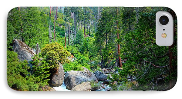 Sequoia Stream IPhone Case by Heidi Smith