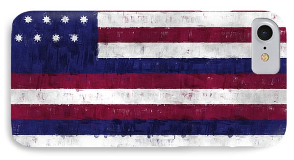 Serapis Flag Phone Case by World Art Prints And Designs