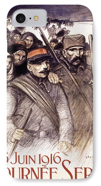 Serbian Day, 1916 IPhone Case