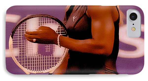 Serena Williams Oh My IPhone Case by Brian Reaves