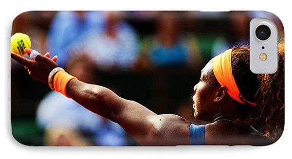 Serena Williams IPhone Case by Srdjan Petrovic