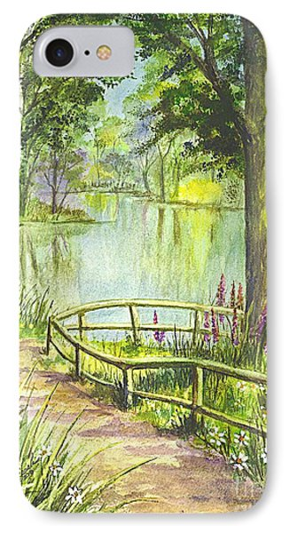Serendipity Stroll IPhone Case by Carol Wisniewski