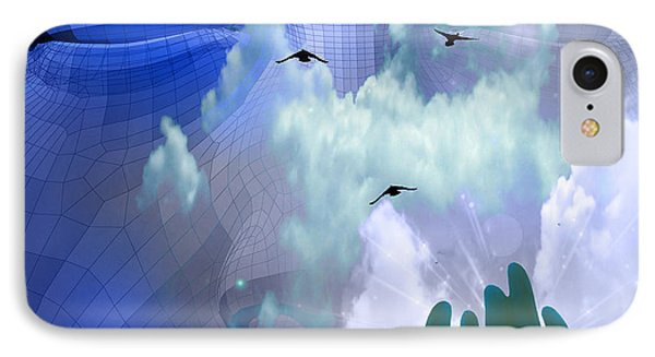 IPhone Case featuring the digital art Serene by Bruce Rolff