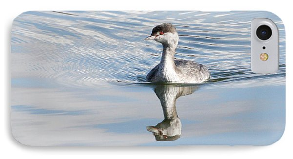 IPhone Case featuring the photograph Serene Grebe by Anita Oakley