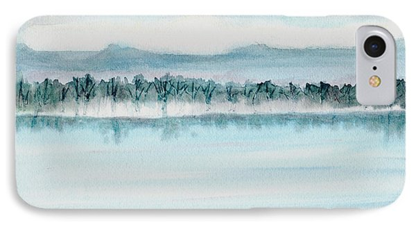 Serene Lake View Phone Case by Mickey Krause