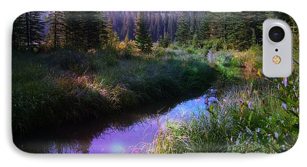 Serene Mountain Moment Phone Case by Shirley Sirois