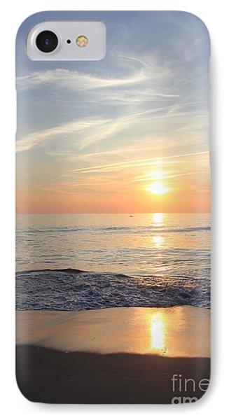 Serene Ocean Sunrise IPhone Case by Mary Haber