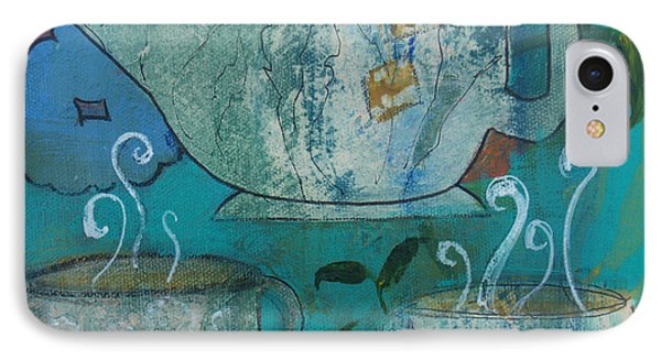 Serene Tea Phone Case by Robin Maria Pedrero