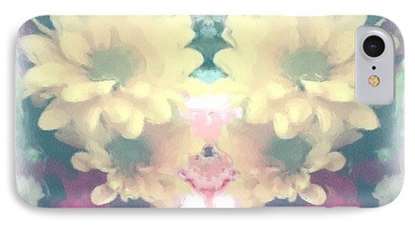IPhone Case featuring the photograph Serene Zinnias by Luther Fine Art