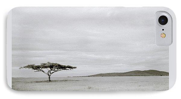 Serengeti Acacia Tree  IPhone Case by Shaun Higson