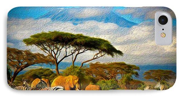 Serengeti IPhone Case