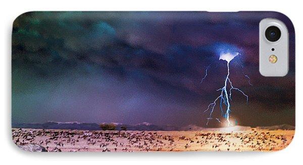 Serengeti Storm IPhone Case