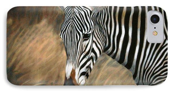 Serengeti Zebra Phone Case by Carol McCarty