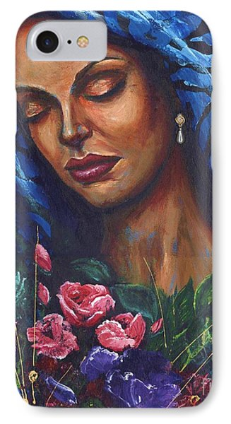 Serenity IPhone Case by Alga Washington