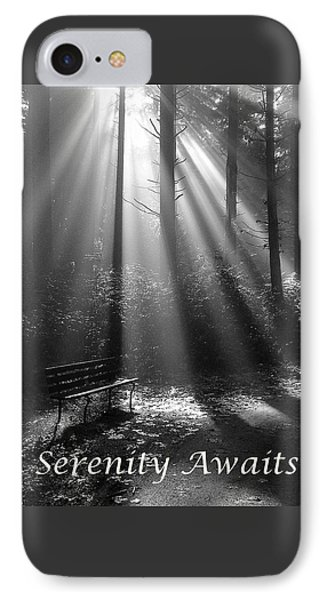 Serenity Awaits IPhone Case by Brian Chase