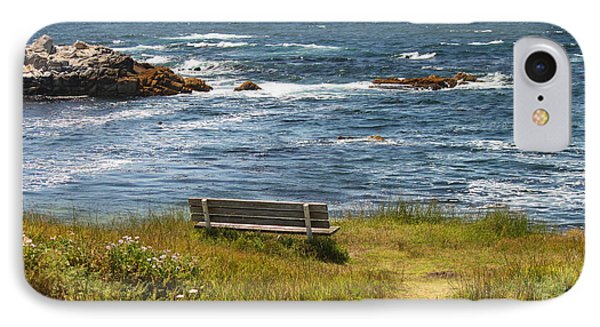 Serenity Bench IPhone Case by Bev Conover