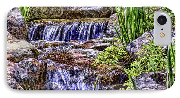 Serenity Falls IPhone Case by Nancy Marie Ricketts