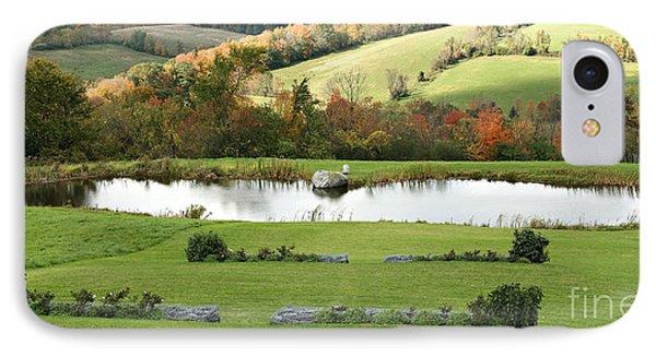 Serenity Hill IPhone Case by Carol Lynn Coronios