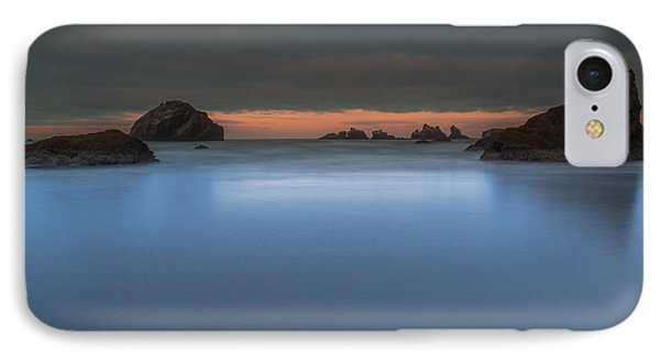 Serenity In Blue.... Bandon IPhone Case by Tim Bryan