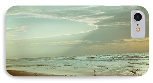 Serenity In The Beach IPhone Case