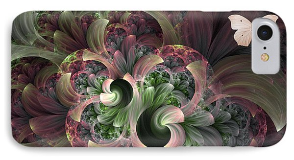 Serenity IPhone Case by Lea Wiggins