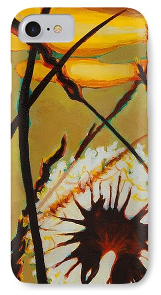 IPhone Case featuring the painting Serenity Of Light by Janet McDonald